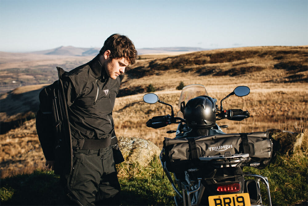 Triumph Motorcycles Launches Packable Riding Gear