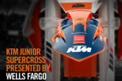 Wells Fargo joins KTM North America as a supporting partner of KTM Junior Racing SX program