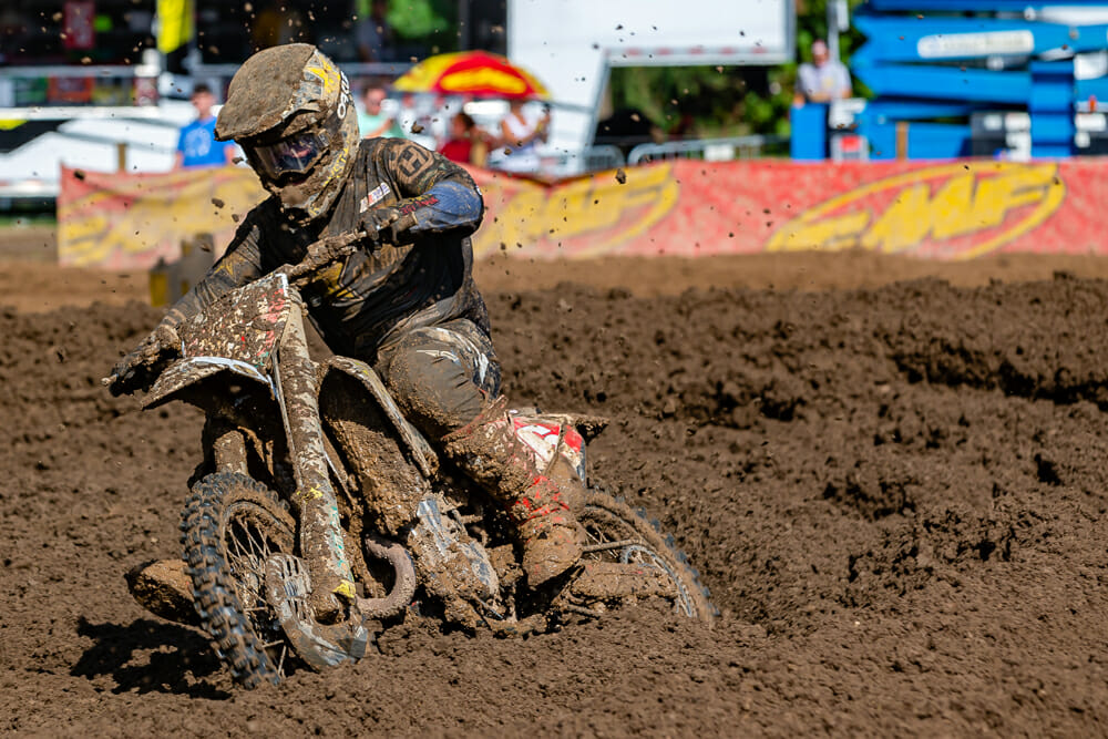 Zach Osborne at muddy 2020 Pro MX