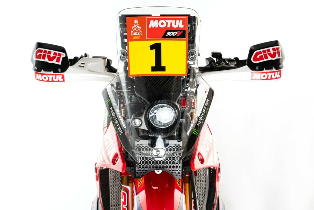 2021 Honda CRF450 Rally