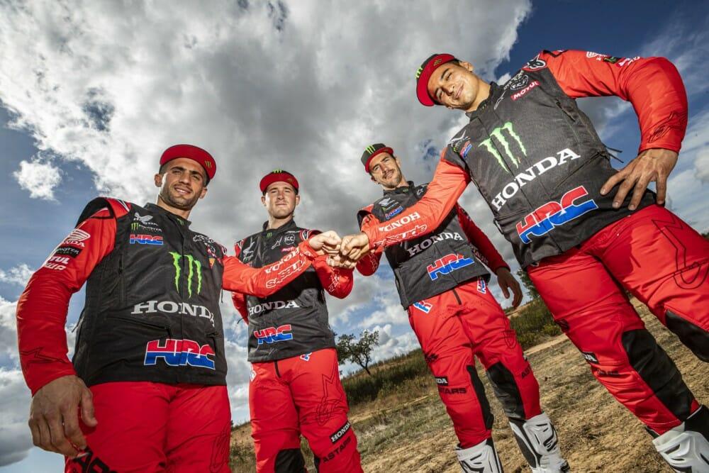 Monster Energy Honda 2021 Dakar Team