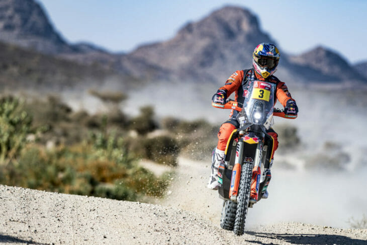 2021 Dakar Motorcycle Rally Results Price wins stage one