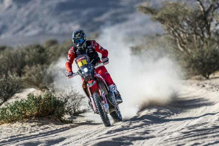2021 Dakar Rally Motorcycle Results Brabec Stage One