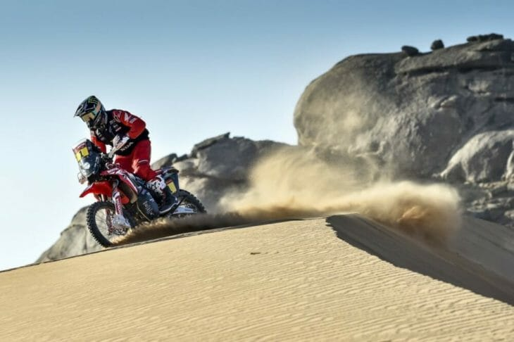 2021 Dakar Rally Brabec finishes second stage two