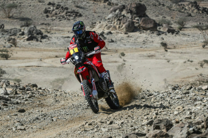 2020 Dakar Rally Motorcycle Results Brabec Prologue Day