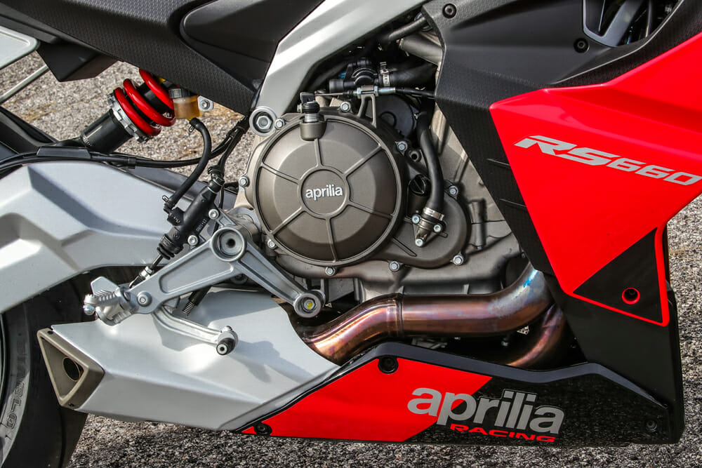 2021 Aprilia RS 660 Engine