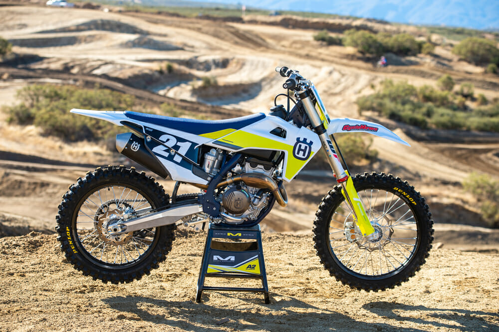 2021 Husqvarna FC 250 right side