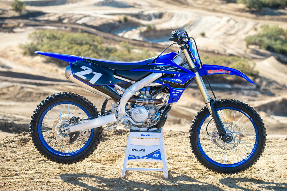 2021 Yamaha YZ250F right side
