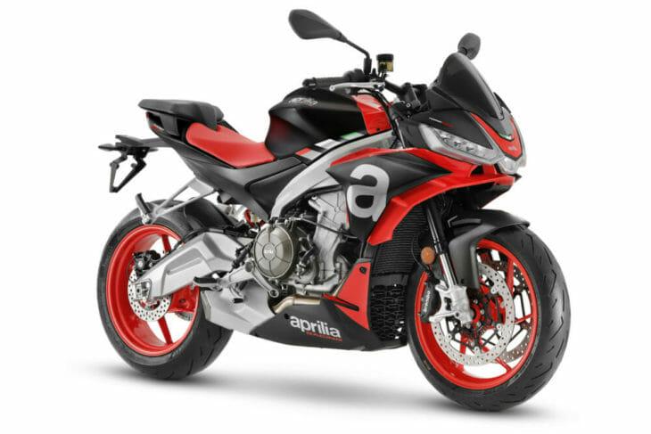2021 Aprilia Tuono 660 First Look Concept Black