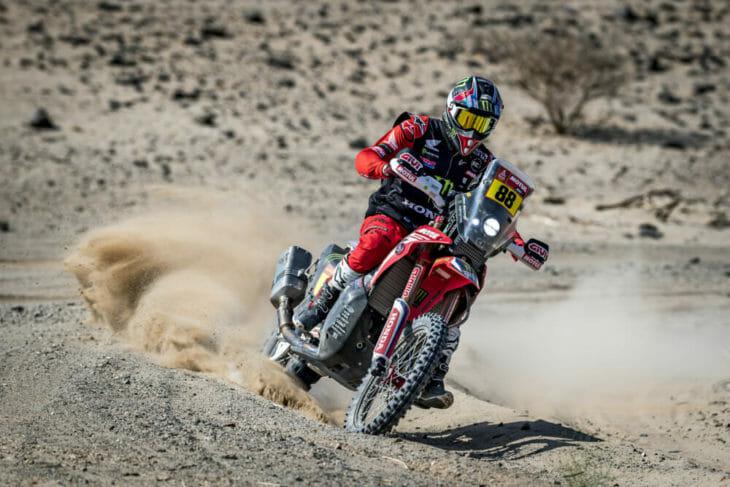 2021 Dakar Motorcycle Rally Barreda wins Stage Four