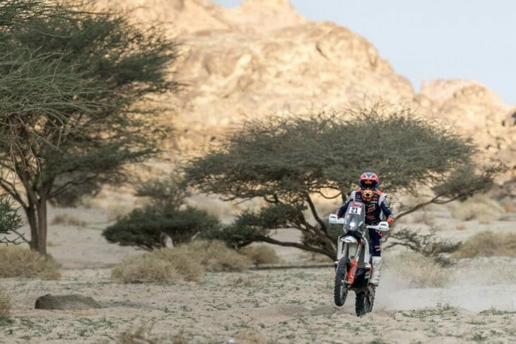 2021 Dakar Rally Motorcycle Results Stage 11 Sanders takes fourth