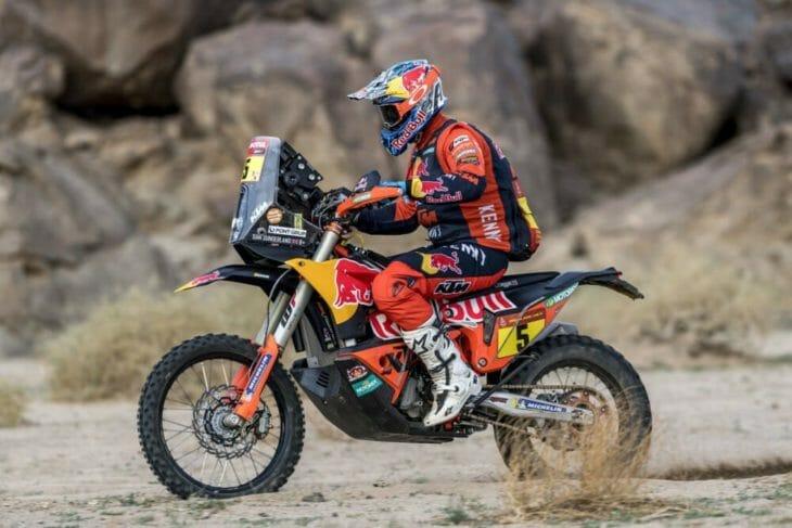 2021 Dakar Rally Motorcycle Results Stage 11 Sunderland wins