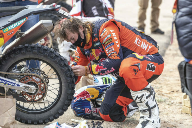 2021 Dakar Rally Motorcycle Results Price Stage Eight