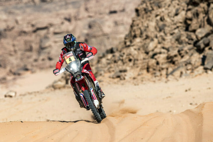 2021 Dakar Rally Motorcycle Results Cornejo Stage Eight