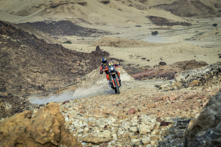 2021 Dakar Rally Motorcycle Results Stage Five Price