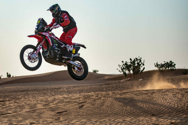 2021 Dakar Rally Motorcycle Results Stage Five Brabec
