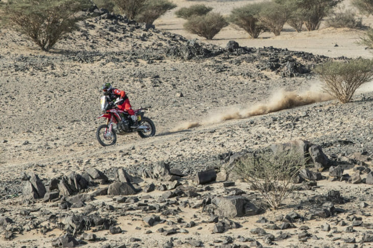 2021 Dakar Rally Motorcycle Results Benavides wins Stage Five