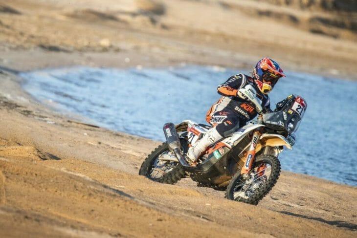 2021 Dakar Rally Motorcycle Results Stage Nine Sanders