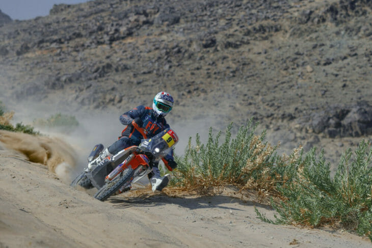 2021 Dakar Rally Motorcycle Results Stage Seven Howes