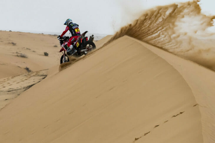 2021 Dakar Rally Motorcycle Results Stage Seven Cornejo