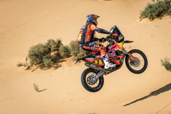 2021 Dakar Rally Motorcycle Results Stage Six Price