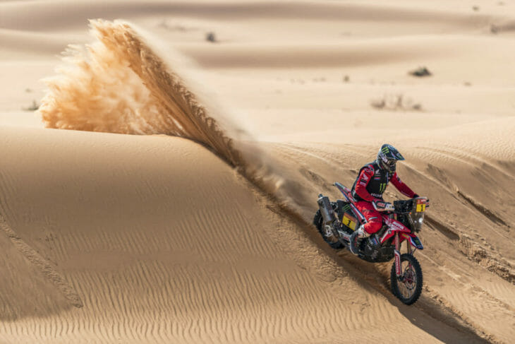 2021 Dakar Rally Motorcycle Results Stage Six Brabec