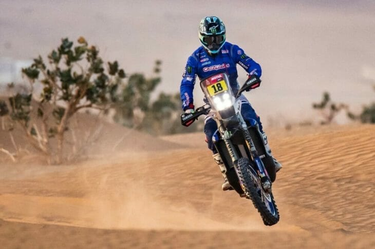 2021 Dakar Rally Motorcycle Results Stage Six Branch