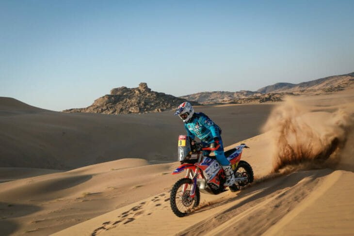 2021 Dakar Motorcycle Rally Results Howes leads after stage four