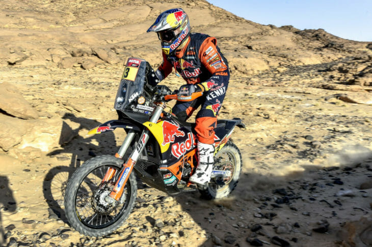 2021 Dakar Motorcycle Rally Results Price wins stage three