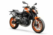 2021 KTM 890 Duke First Look Orange