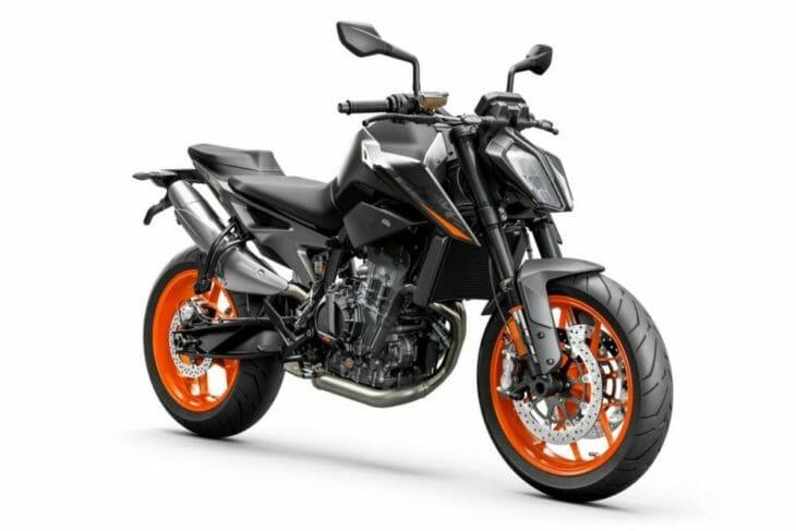 2021 KTM 890 Duke First Look side black