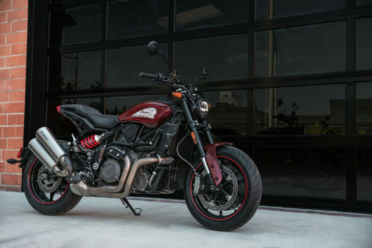 Indian motorcycle FTR1200S
