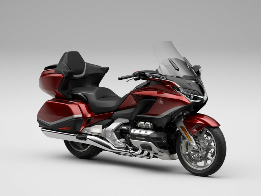 2021 Gold Wing in Candy Ardent Red