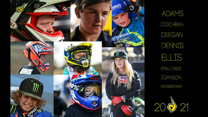Team Dunlop Elite Athletes Ride Into 2021 For Its 15th Year