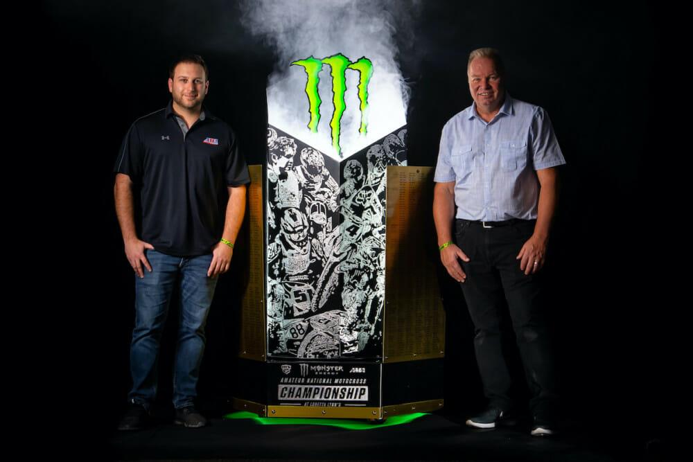 AMA Amateur National Motocross Championship Trophy