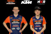 Waters Auto Body KTM / NKR Canada Rolling Out Two-Rider AFT Singles Team