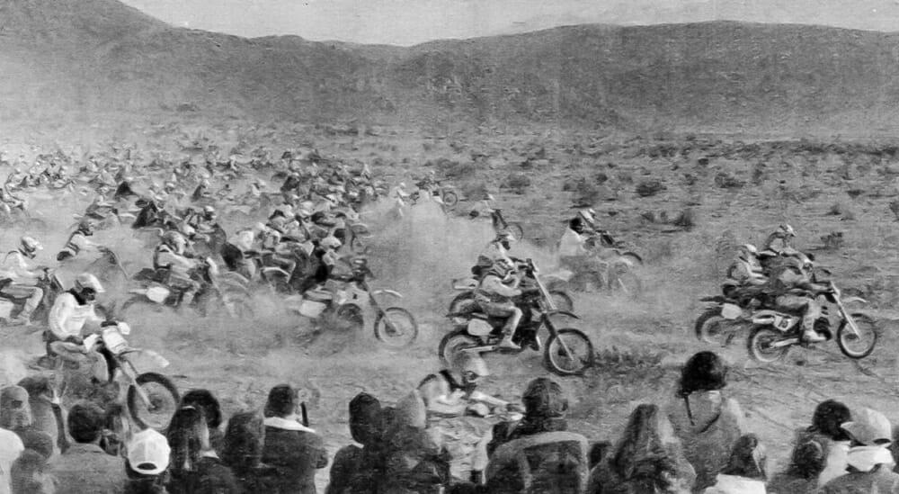 Barstow-to-Vegas desert race in 1989