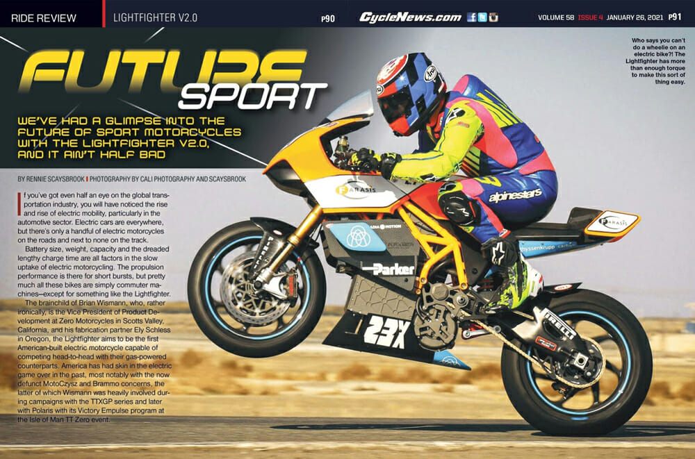 Cycle News Magazine Lightfighter V2.0 Review