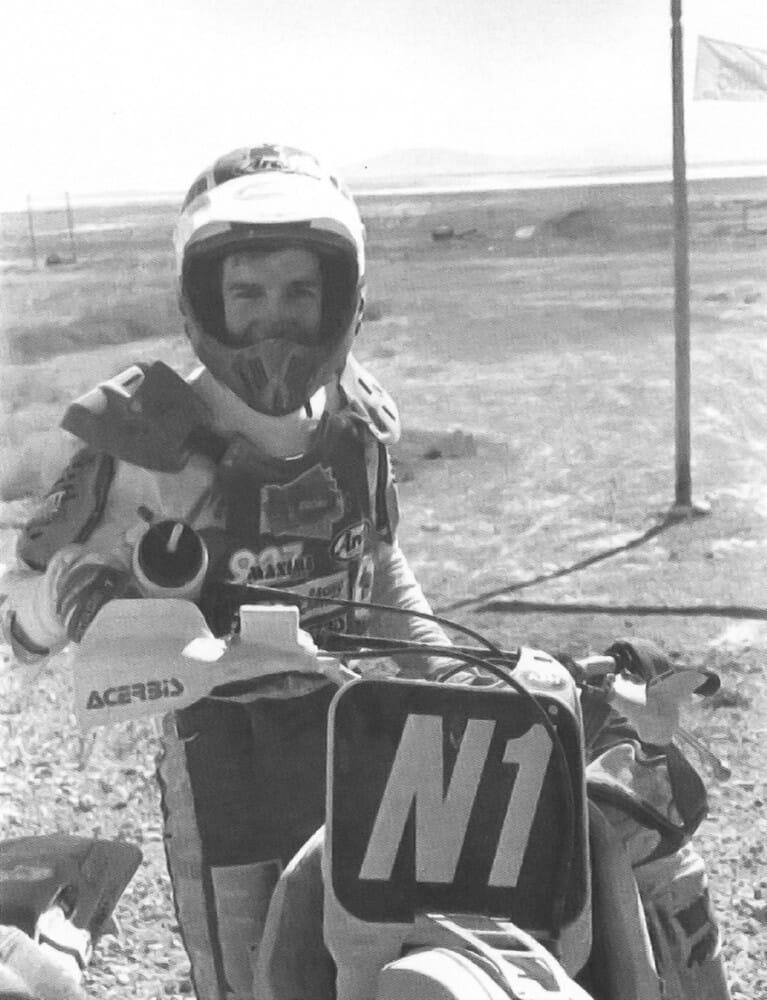 Dan Smith, winner of the 1989 Barstow-to-Vegas desert race