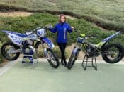 Forsley Re-Signs with Factory ONE Sherco