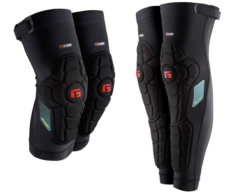 G-Form Pro Rugged knee and shin guards