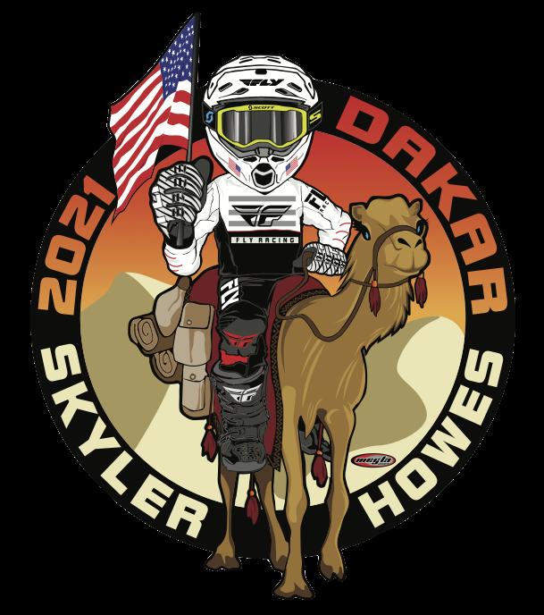 Skyler Howes' Dakar Sticker Image