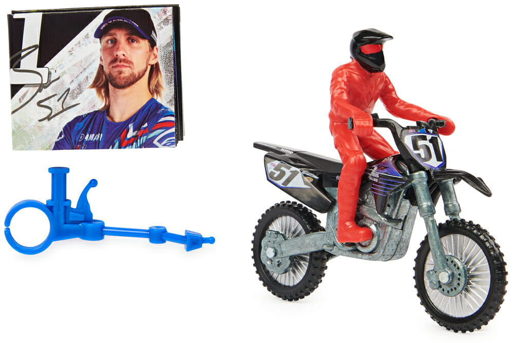 Spin Master Justin Barcia Motorcycle toy