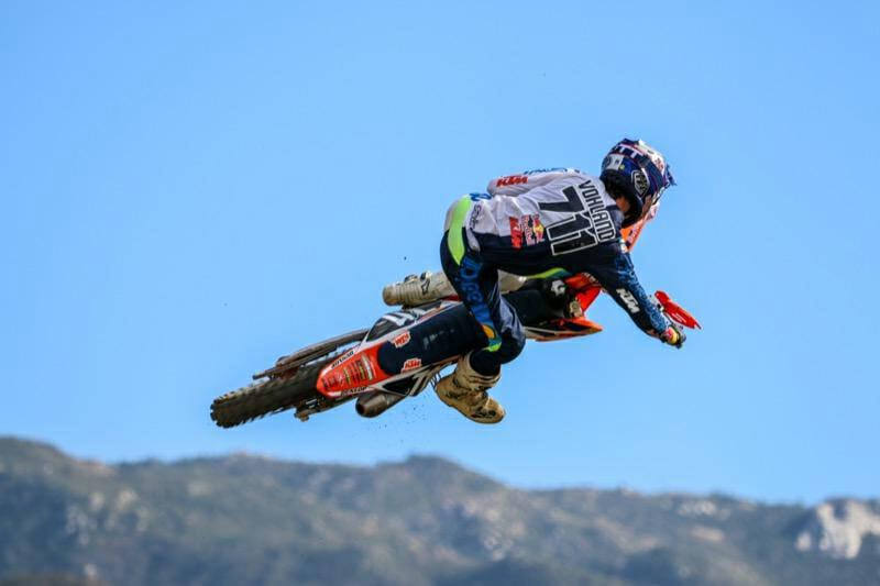 rider at 8th Annual Kurt Caselli Ride Day