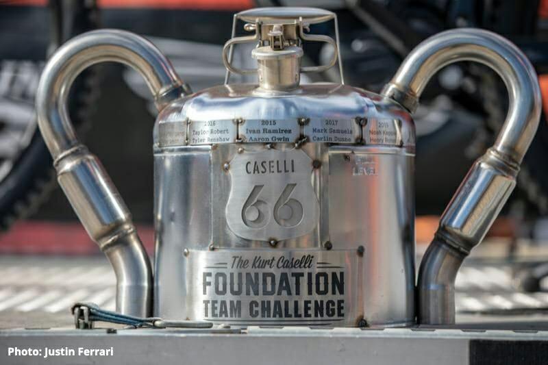 Kurt Caselli Ride Day team challenge trophy