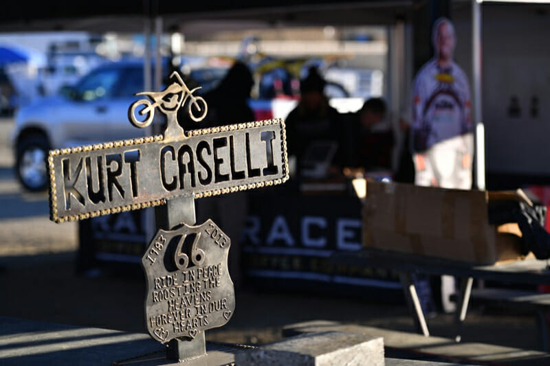 Kurt Caselli Ride Day trophy