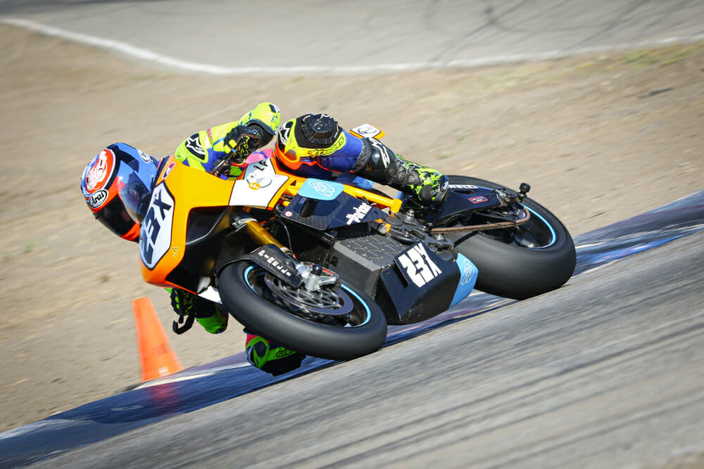Lightfighter V2.0 at Buttonwillow racetrack