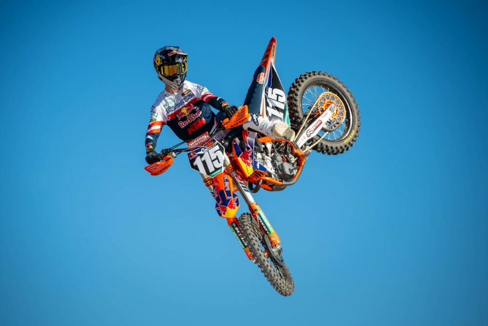 Max Vohland of Red Bull KTM 250SX team