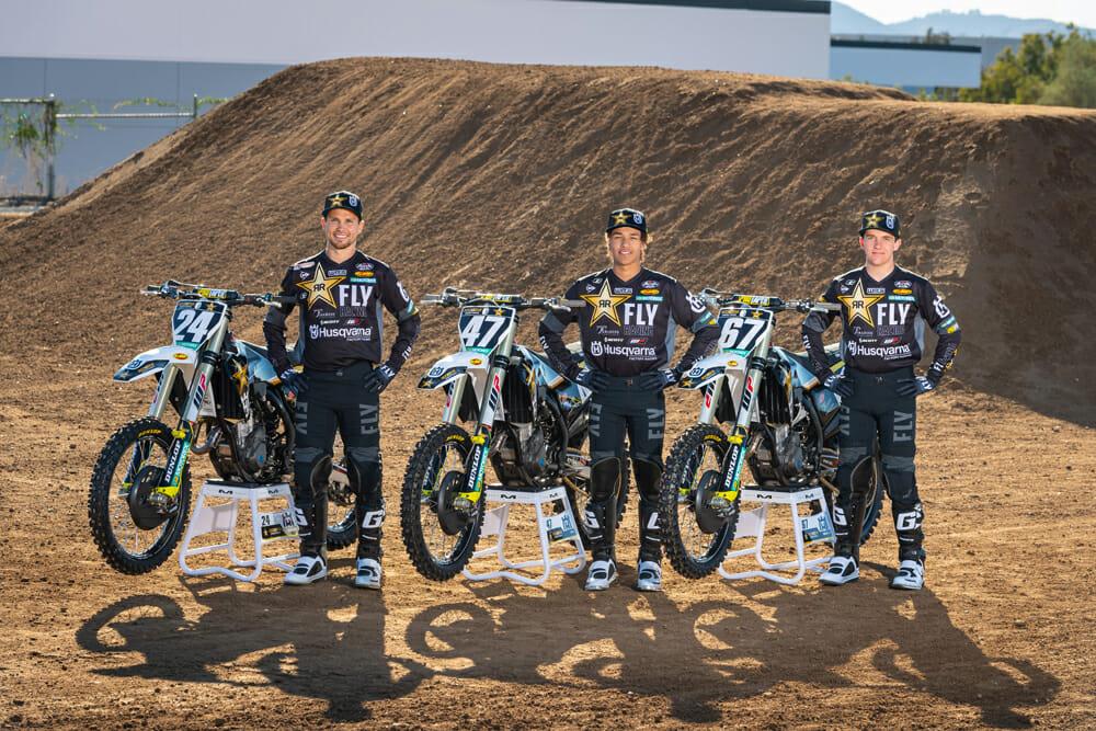 Rockstar Energy Husqvarna Factory Racing 250SX team