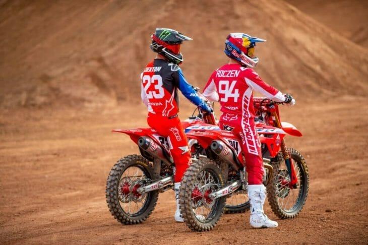 Ken Roczen and Chase Sexton